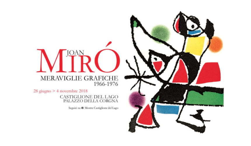 Joan Mirò - Meraviglie Grafiche
