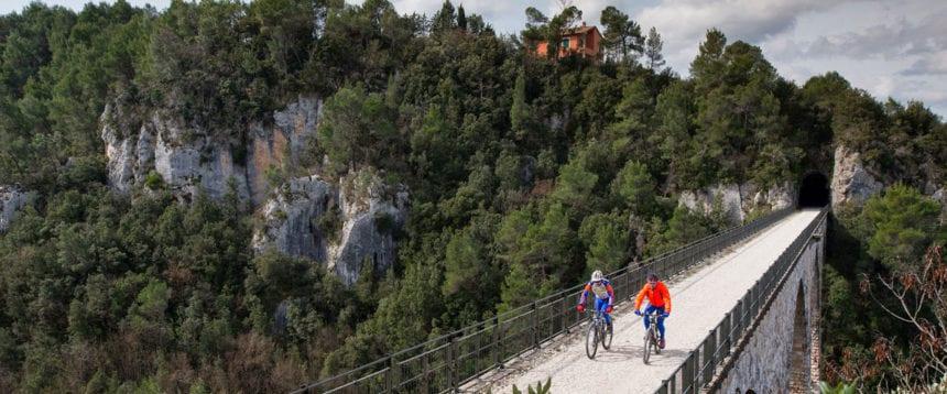La Spoleto-Norcia in MTB